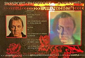 Passport-hologram