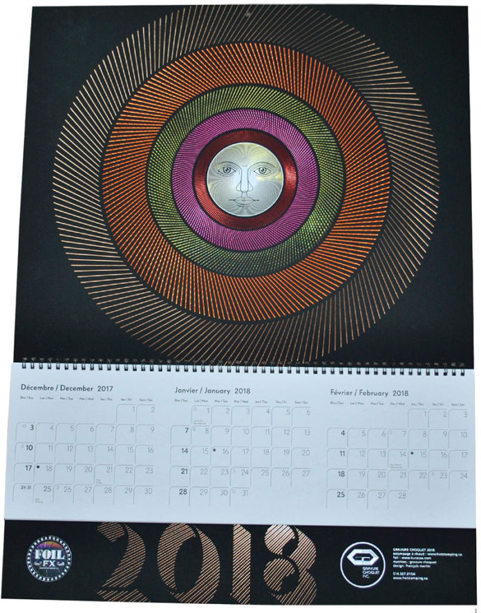 Sun Themed Calendar